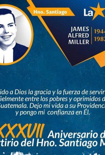 XXXVII Aniversario del martirio Santiago Miller